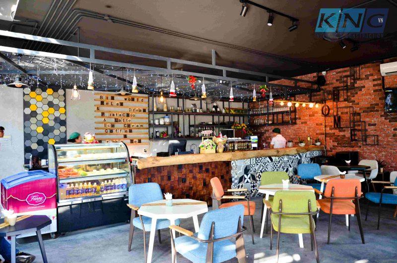 Quán cà phê Greenhouse Coffee Bình Dương - Kiến Nhật