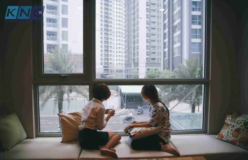 Không gian làm việc tại Jolo English - Kiến Nhật