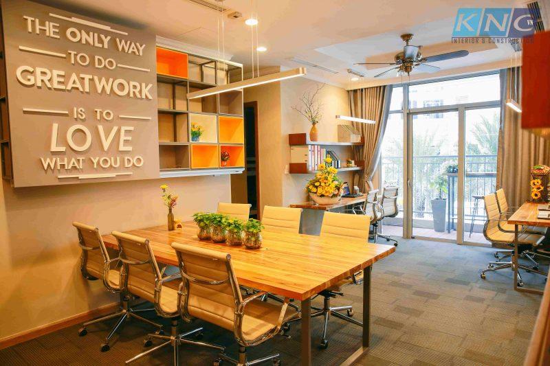 Thiết kế nội thất văn phòng Jolo English - Kiến Nhật