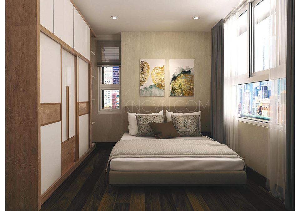Nội thất phòng ngủ căn hộ Tropic Garden - Ảnh: Kiến Nhật