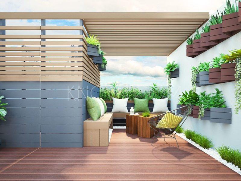 """Thiết kế """"vườn trong nhà"""" tạo nét đẹp thẩm mỹ độc đáo - Ảnh: Internet"""