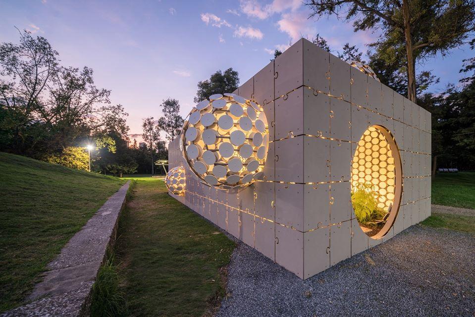 Pavilon Mexico kiến trúc độc đáo - Ảnh: Internet